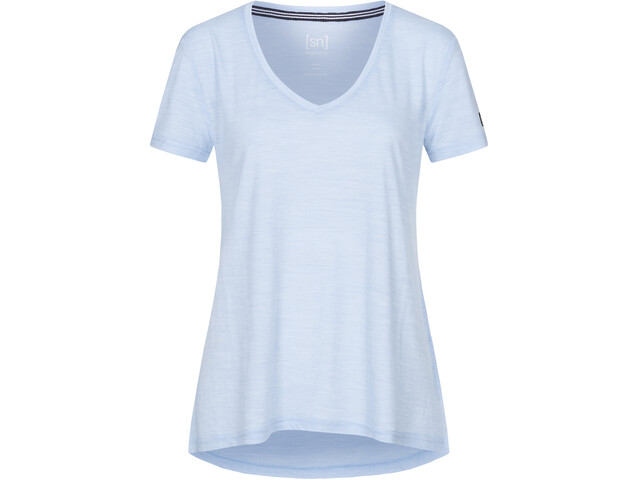 super.natural Travel Camiseta Mujer, azul